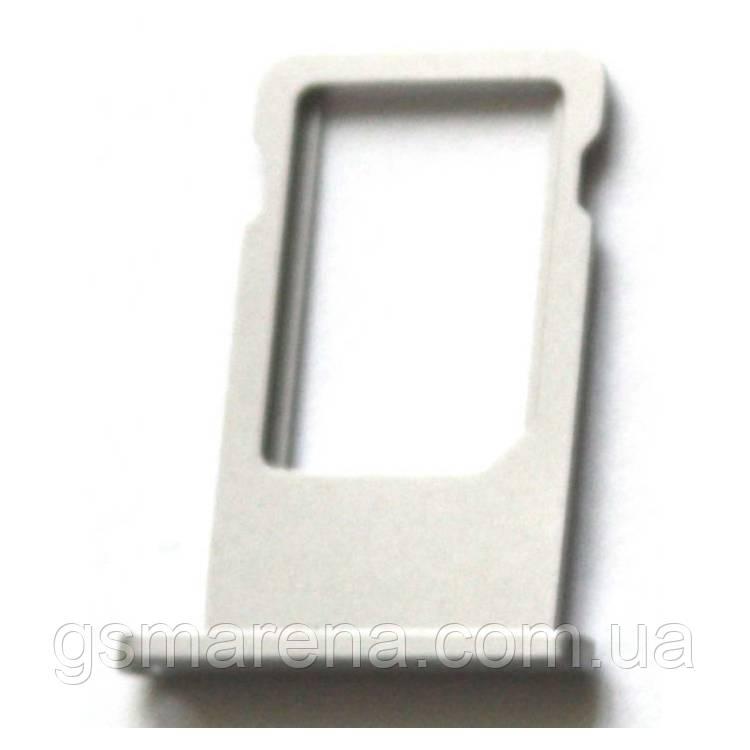 Сим держатель SIM холдер Apple iPhone 6 Sim-Card holder Silver Оригинал
