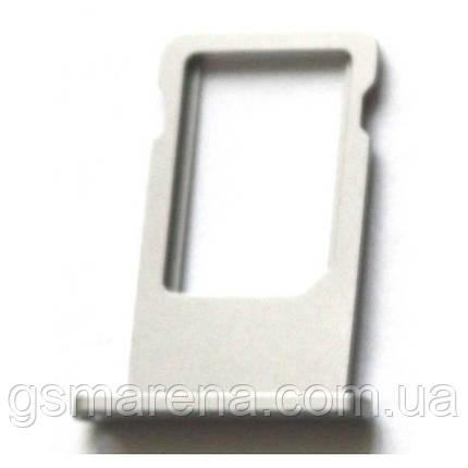 Сим держатель SIM холдер Apple iPhone 6 Sim-Card holder Silver Оригинал, фото 2