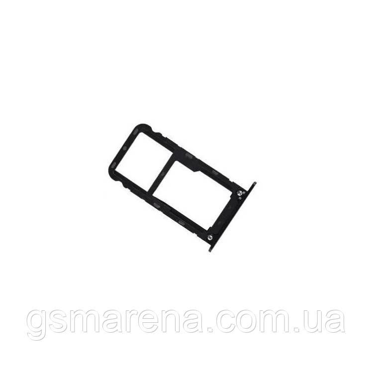 Сим держатель SIM холдер Xiaomi Redmi 5 Plus Черный