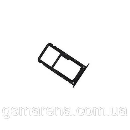 Сим держатель SIM холдер Xiaomi Redmi 5 Plus Черный, фото 2