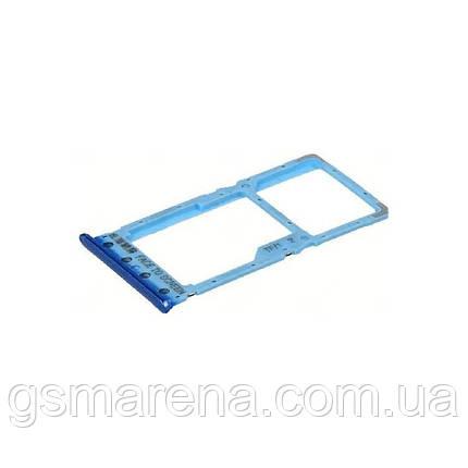Сим держатель SIM холдер Xiaomi Redmi 6 Синий, фото 2