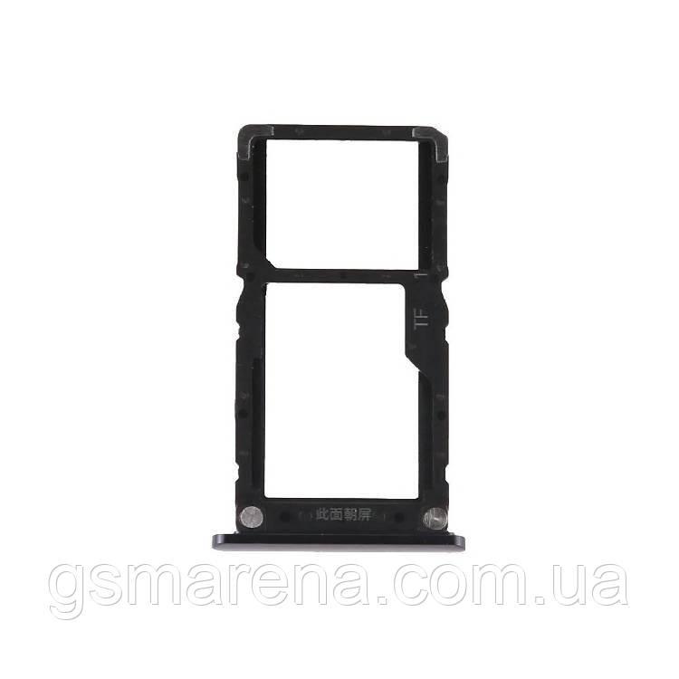 Сим держатель SIM холдер Xiaomi Redmi Mi8 Lite midnight Черный