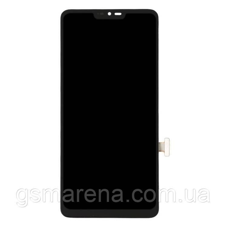 Дисплей модуль LG G7 ThinQ G710EM Черный