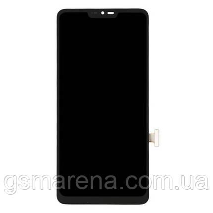 Дисплей модуль LG G7 ThinQ G710EM Черный, фото 2