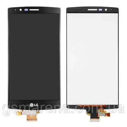 Дисплей модуль LG H810 G4, H811, H815, H818, F500, LS991, VS986 Черный, фото 2