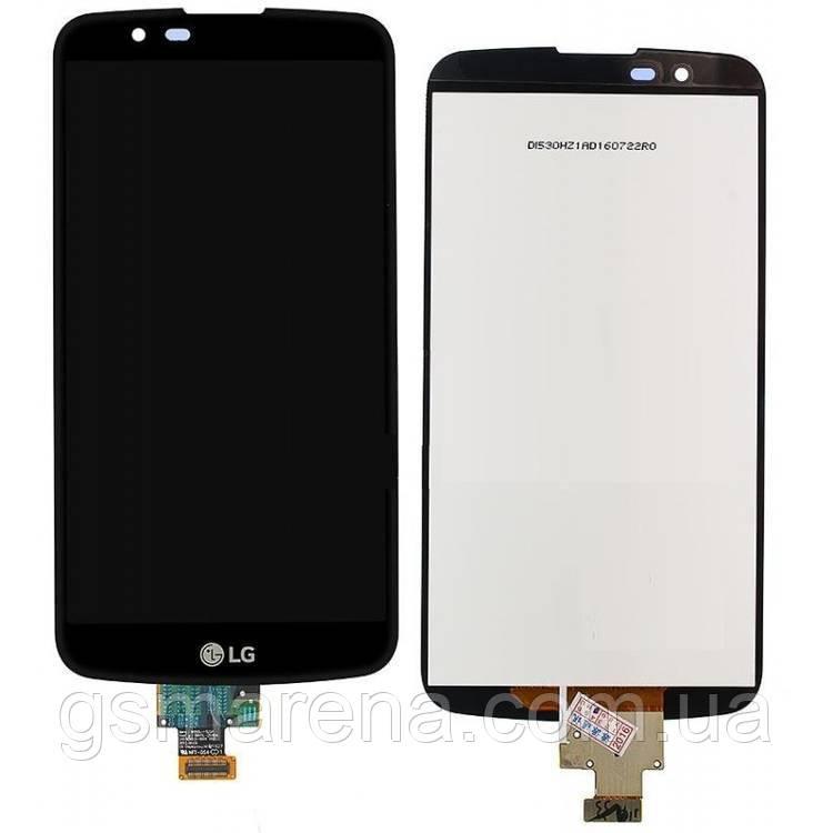 Дисплей модуль LG K10, K430 TV Черный
