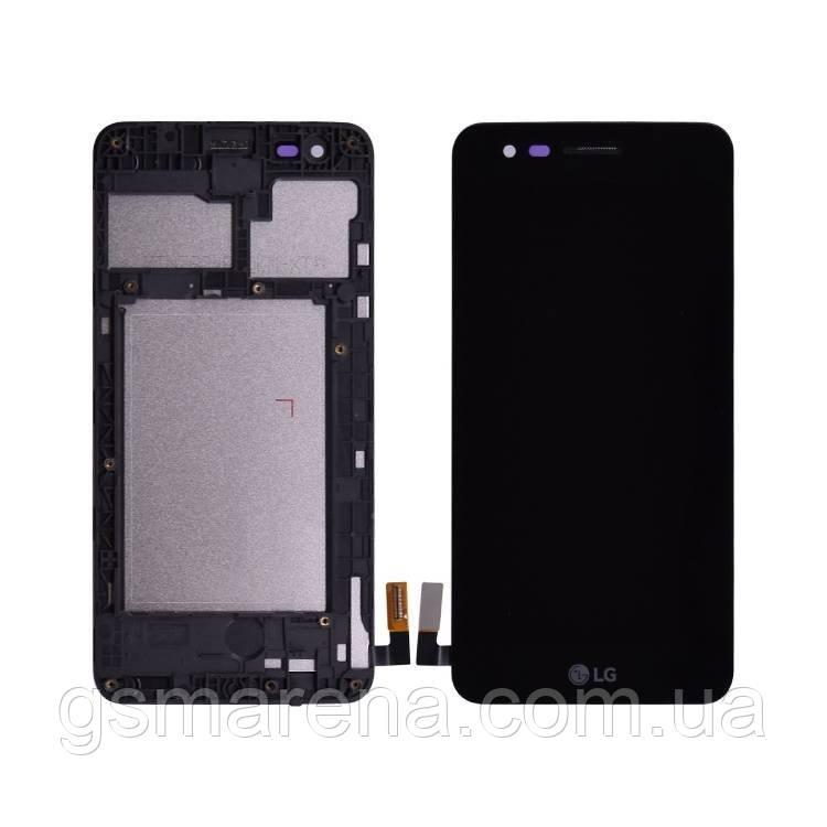 Дисплей модуль LG K4 (2017) M160 complete (с рамкой) Черный