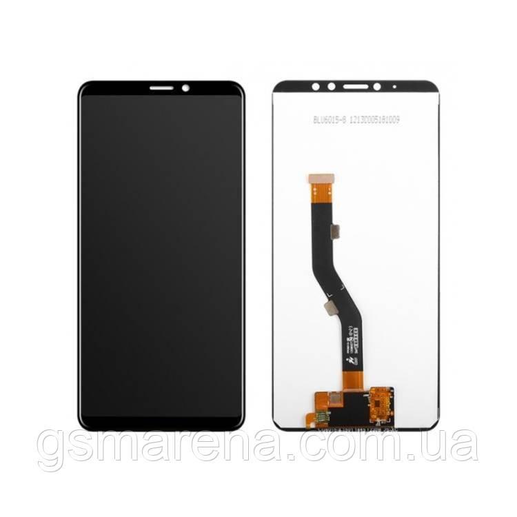 Дисплей модуль Meizu M8 Note (M822) Черный Оригинал PRC