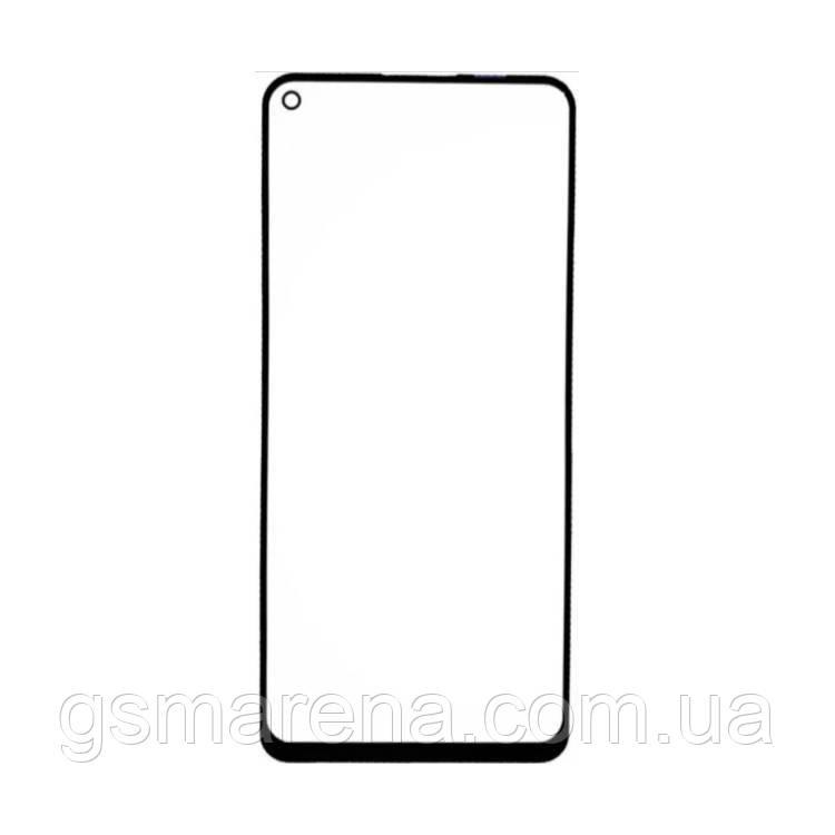 Стекло дисплея для переклейки Samsung Galaxy A21S SM-A217 (2020) Черный