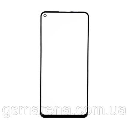 Стекло дисплея для переклейки Samsung Galaxy A21S SM-A217 (2020) Черный, фото 2