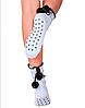 Зимние женские носки с помпонами (размер 35-39 в расцветках), фото 2