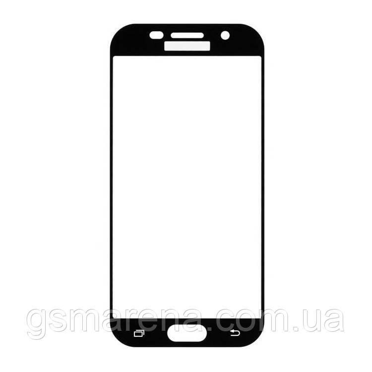 Стекло корпуса Samsung A320 A3 (2017) Черный Оригинал