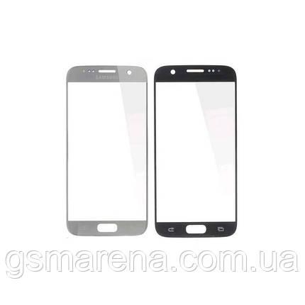 Стекло корпуса Samsung G930F S7, G930FD S7 Duos, с OCA пленкой, Серый, фото 2
