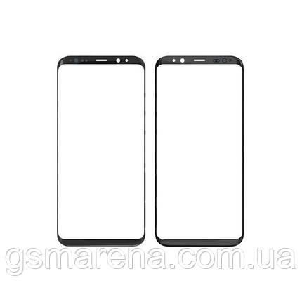 Стекло корпуса Samsung G955F S8 Plus midnight Черный Оригинал, фото 2