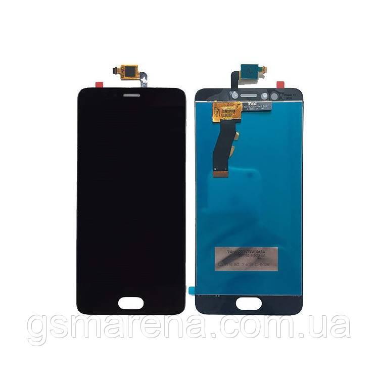Дисплей модуль Meizu M5S, M5s Mini Черный