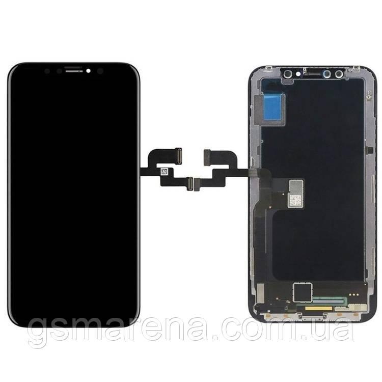 Тачскрин сенсор Apple iPhone X Черный TFT