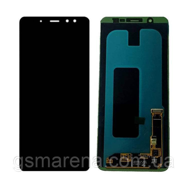 Дисплей модуль Samsung A605F A6 Plus (2018) Черный TFT с регулируемой подсветкой