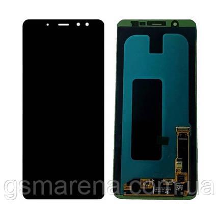 Дисплей модуль Samsung A605F A6 Plus (2018) Черный TFT с регулируемой подсветкой, фото 2