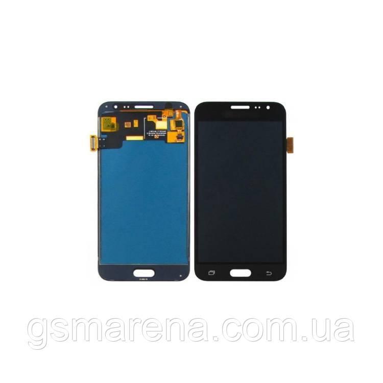 Дисплей модуль Samsung J3 (2016) J320F с регулируемой подсветкой Черный