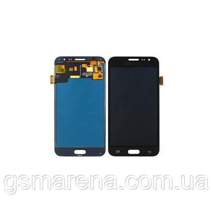 Дисплей модуль Samsung J3 (2016) J320F с регулируемой подсветкой Черный, фото 2