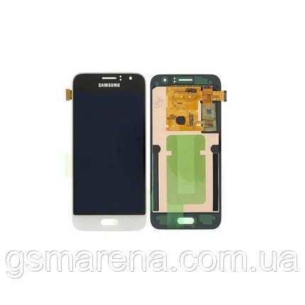 Дисплей модуль Samsung SM-J120 Galaxy J1 Белый OLED, фото 2