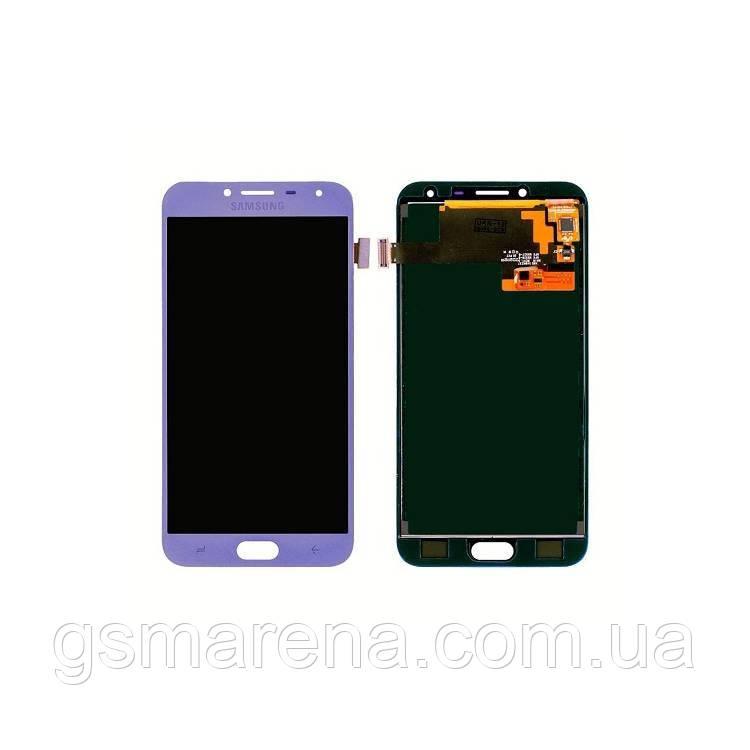 Дисплей модуль Samsung SM-J400H Galaxy J4 (2018) Пурпурный OLED