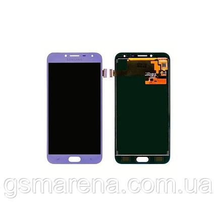 Дисплей модуль Samsung SM-J400H Galaxy J4 (2018) Пурпурный OLED, фото 2