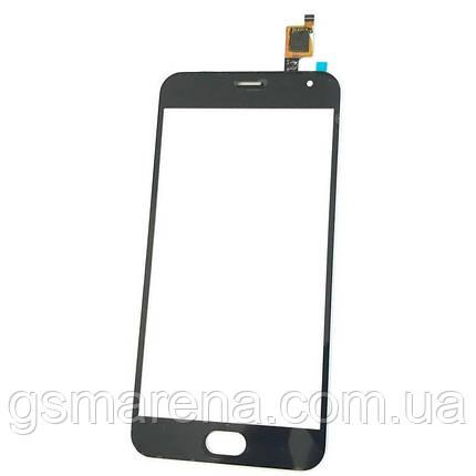 Тачскрин сенсор Meizu M2, M2 Mini Черный, фото 2