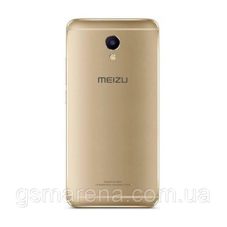 Задняя часть корпуса Meizu M5 Note Золотой