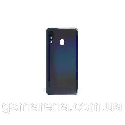 Задняя часть корпуса Samsung A405 Galaxy A40 (2019) Черный, фото 2