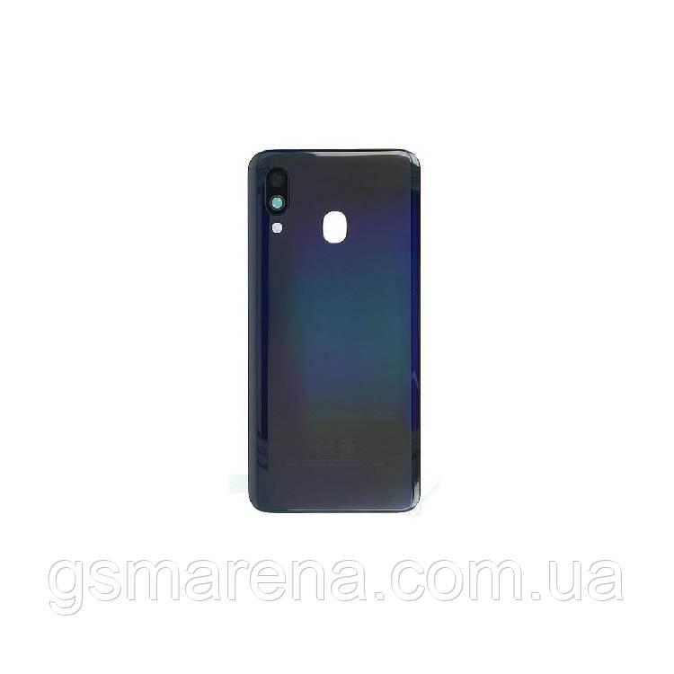 Задняя часть корпуса Samsung A405 Galaxy A40 (2019) Черный