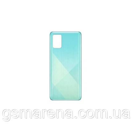 Задняя часть корпуса Samsung A715 Galaxy A71 (2020) prism crush Синий GH82-22112C, фото 2