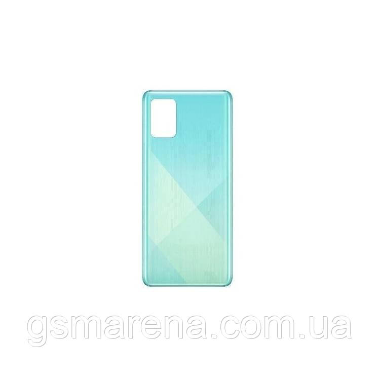 Задняя часть корпуса Samsung A715 Galaxy A71 (2020) prism crush Синий GH82-22112C