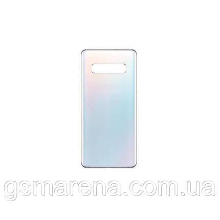 Задняя часть корпуса Samsung G973 Galaxy S10 prism Белый, фото 2