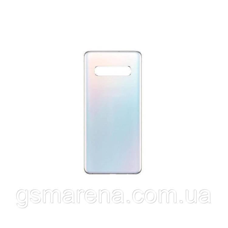 Задняя часть корпуса Samsung G973 Galaxy S10 prism Белый