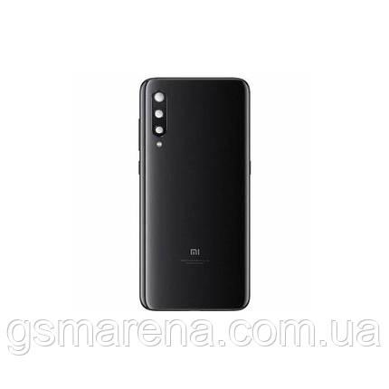 Задняя часть корпуса Xiaomi Redmi Mi9 SE Черный (с линзами камеры), фото 2