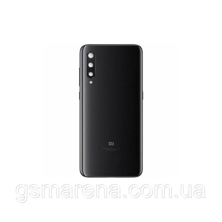 Задняя часть корпуса Xiaomi Redmi Mi9 SE Черный (с линзами камеры)