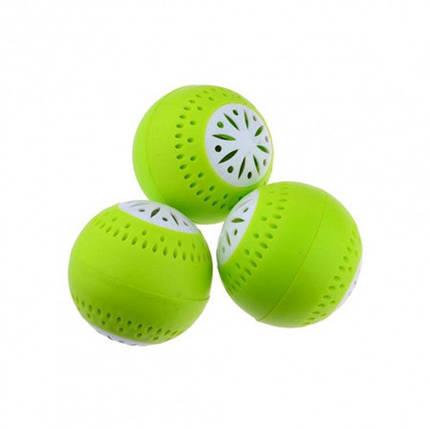 Поглотитель для устранения запаха в холодильник шарики Fridge Balls набор 3 шт, фото 2