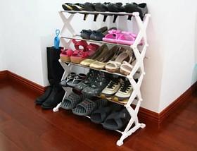Полку стійка для зберігання взуття Shoe Rack на 15 пар, фото 3