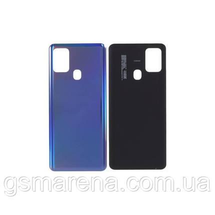 Задняя часть корпуса Samsung Galaxy A21s (2020) SM-A217 Синий, фото 2