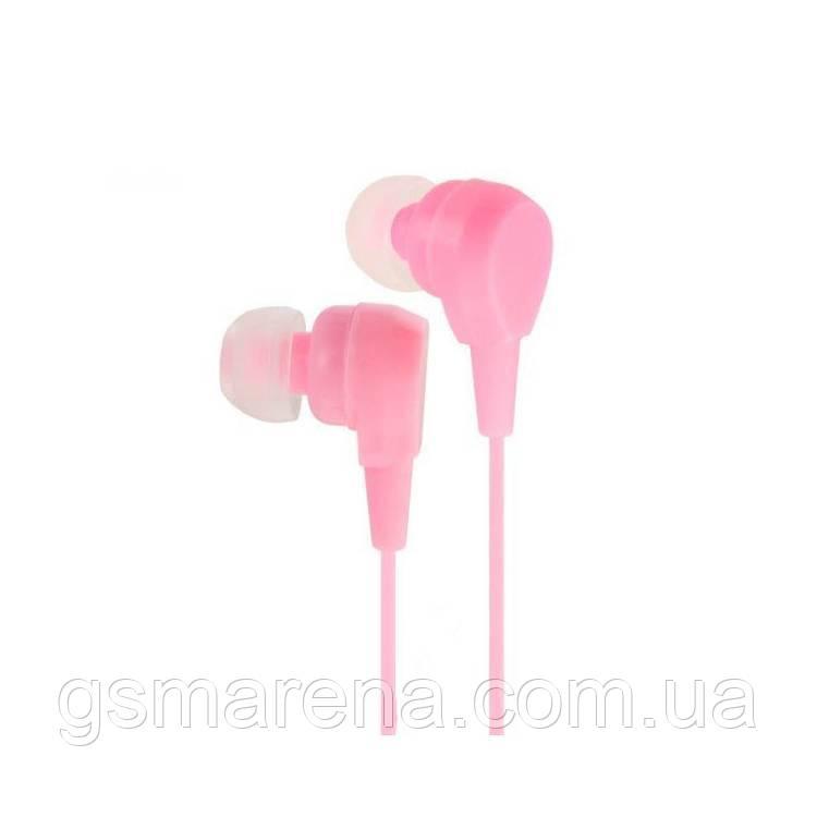 Наушники №3 Розовый без уп.