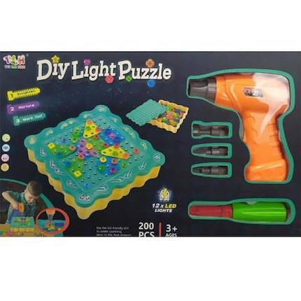 """Конструктор Tu Le Hui """"Diy Light Puzzle"""" на 200 деталей, фото 2"""