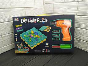 """Конструктор Tu Le Hui """"Diy Light Puzzle"""" на 200 деталей, фото 3"""