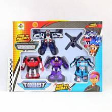 """Набор трансформеров """"Tobot"""", 4 штуки"""