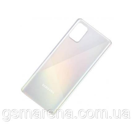 Задняя часть корпуса Samsung Galaxy A51 (2020) SM-A515 Белый, фото 2