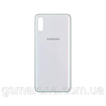 Задняя часть корпуса Samsung Galaxy A70 SM-A705 Оригинал Белый, фото 2