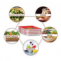 Многоразовый вакуумный лоток Clever Tray для хранение пищевых продуктов, фото 2
