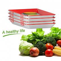 Многоразовый вакуумный лоток Clever Tray для хранение пищевых продуктов, фото 3