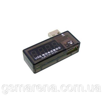Зарядное устройство USB Charger Doctor Aida A-3333 измерения напряжения и тока при зарядке, фото 2