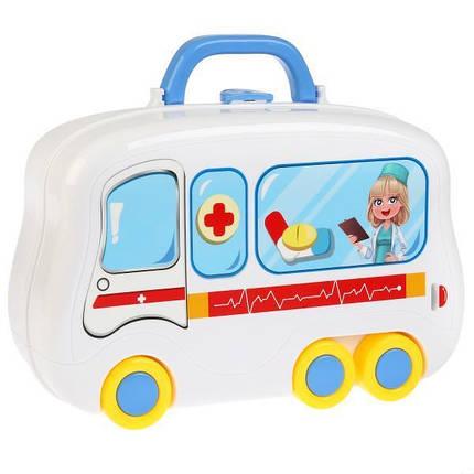 """Детский чемоданчик """"Happy Doctor"""", 13 предметов, фото 2"""